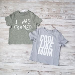 Childrens Place Graphic Tee Bundle